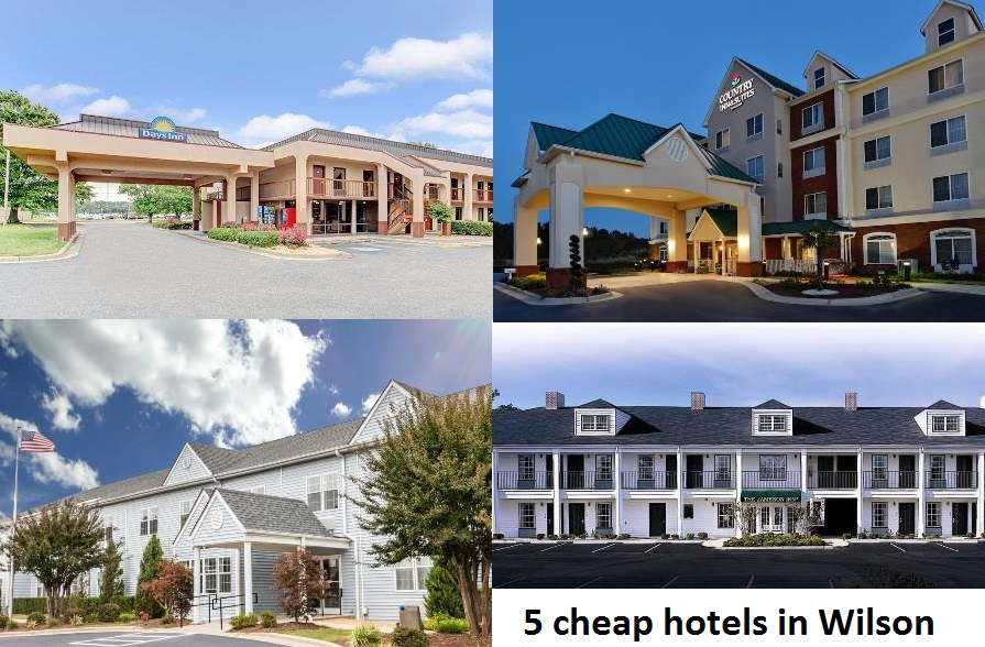 5 cheap hotels in Wilson