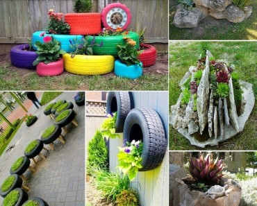 Artistic container gardening