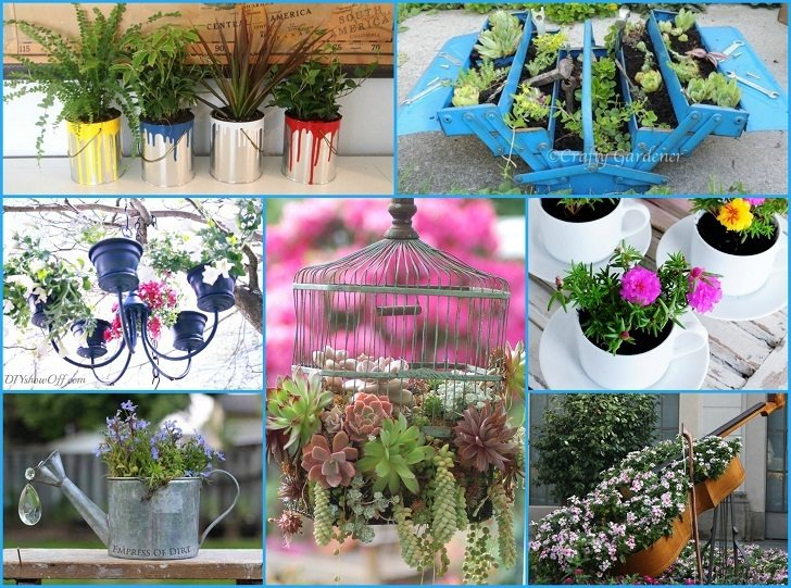Artistic container gardening visualizations