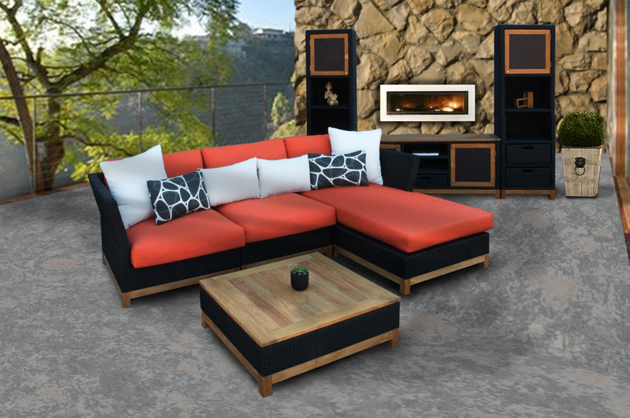 Beautiful Garden Modern Wood Furniture