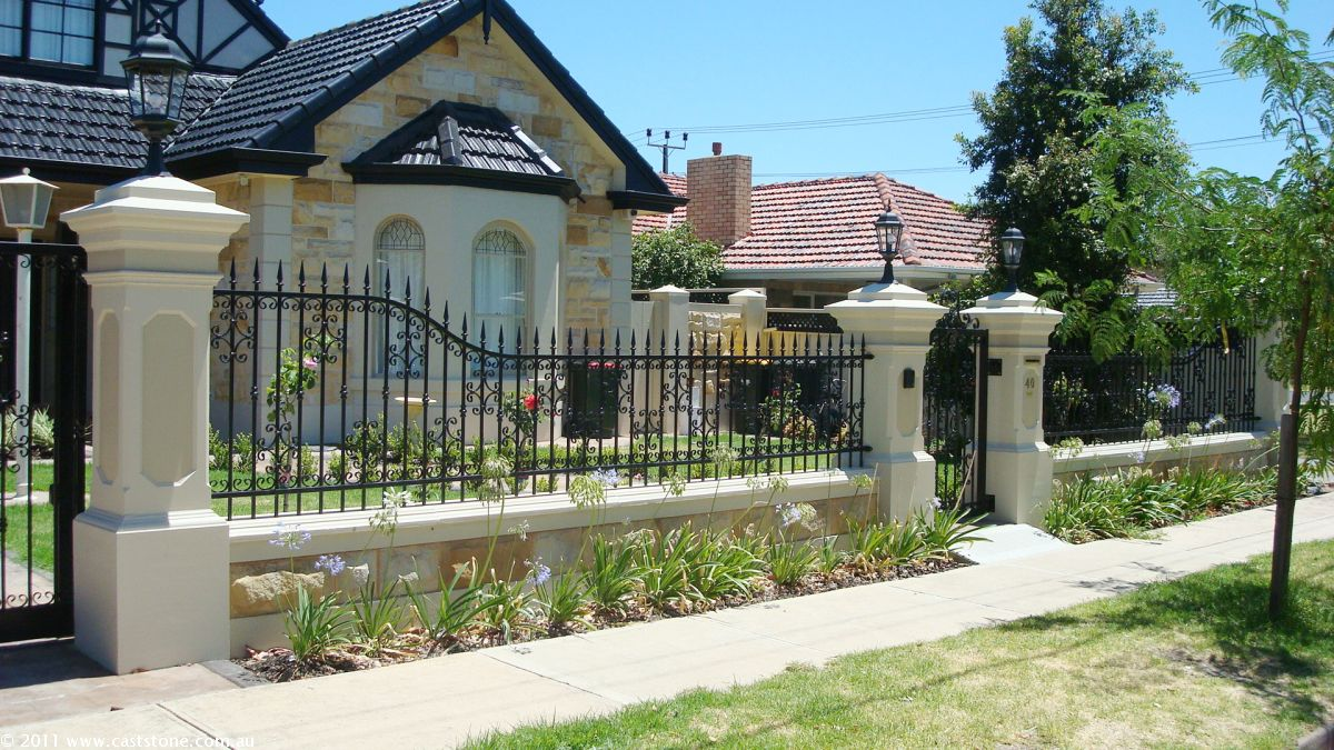 Beautiful Home Fence Designs And Gate Ideas – Wilson Rose Garden