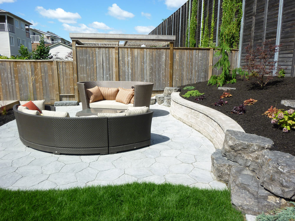 Innovative backyard design ideas for small yards wilson for Pictures of patio ideas