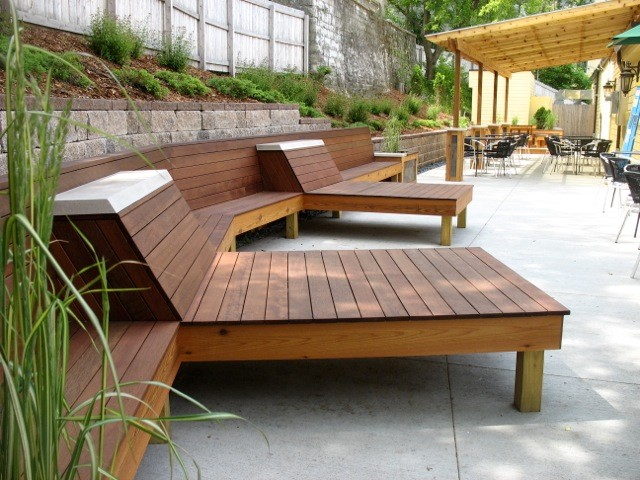 fantastic garden furniture wood balcony