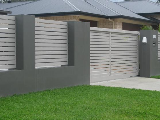 Beau Home Fence Designs. And Gate Ideas