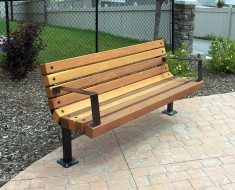 Garden Park Outdoor Bench