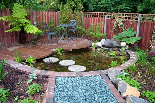 Garden Ponds Designs for Your Small Garden