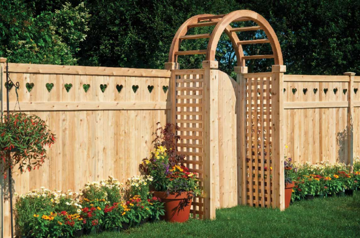 Idea Small Gate Garden Furniture Wood