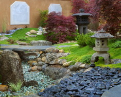 Japanese Garden Landscape Decor