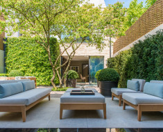 Patio garden contemporary cool design