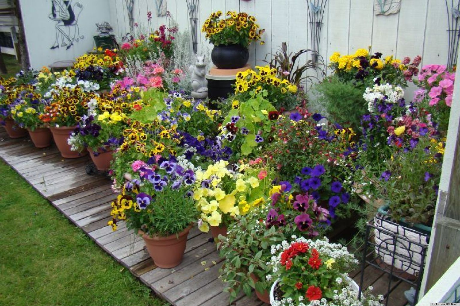 Container Garden Design property enhanced features thru garden design services by tu bloom Pretty Container Gardening