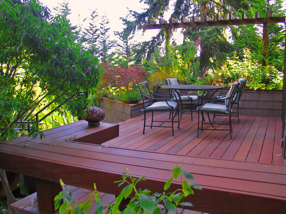 Garden Ideas North Carolina private residence modern garden deck superb decor ideas in north