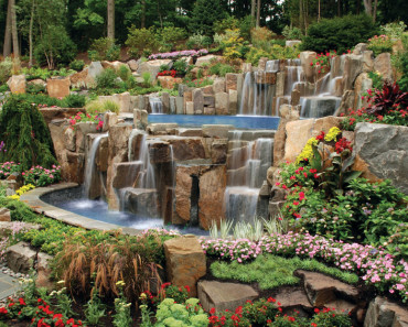 Rock Garden Lands Decor