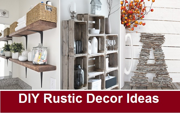 DIY Rustic Decor Ideas