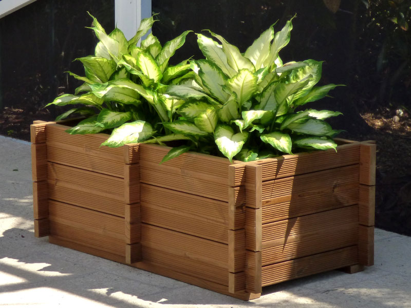 Waterproofing Planter Boxes : How to make wooden planter boxes waterproof wilson rose