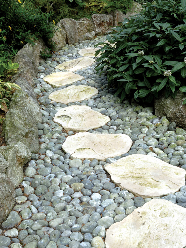 Charming ... Your Garden Or There Are Some Particular Stepping Stones That Should  Look Different. Most Of The Time The Whole Path Is Designed Because It  Gives A More ...