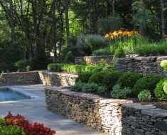 Terrace landscaping in Wilson NC