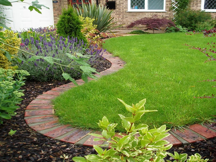 decorative landscape edging