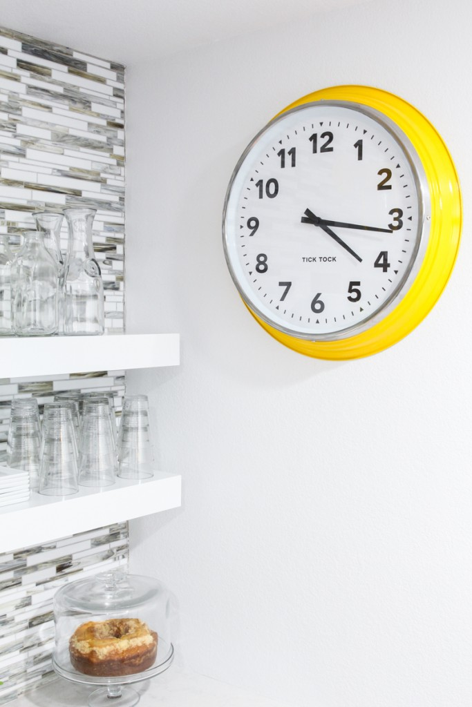 design your own wall clock