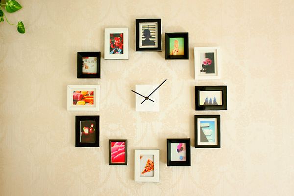 diy wall clock 3d