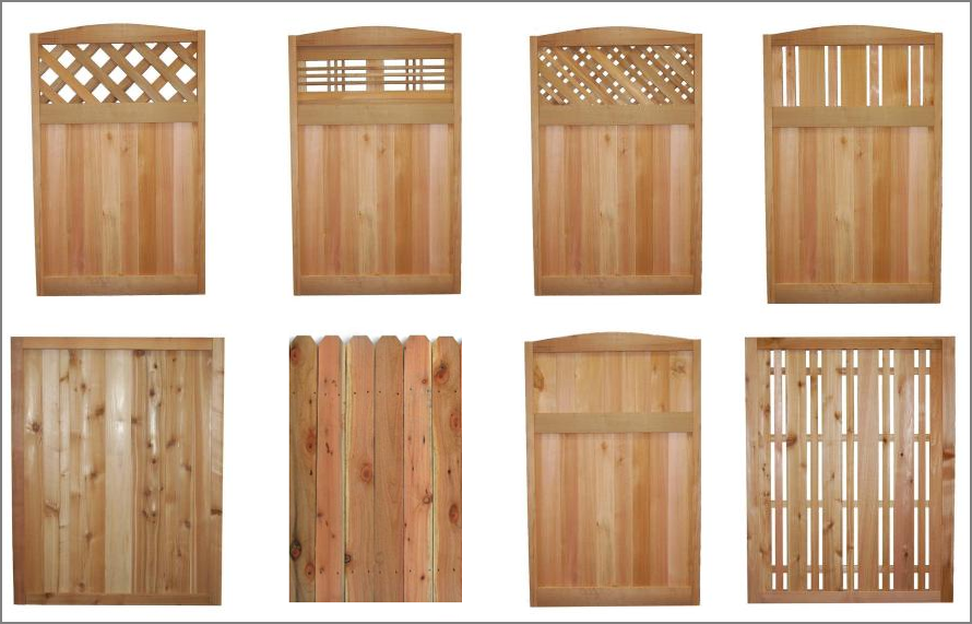 fence panels in wilson