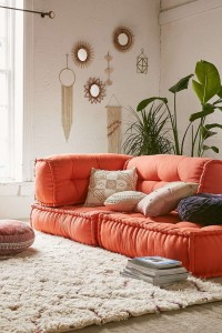 floor cushion seating ideas