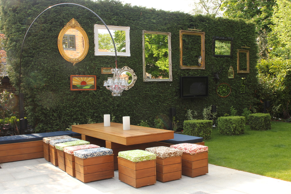 garden wall art mirrors