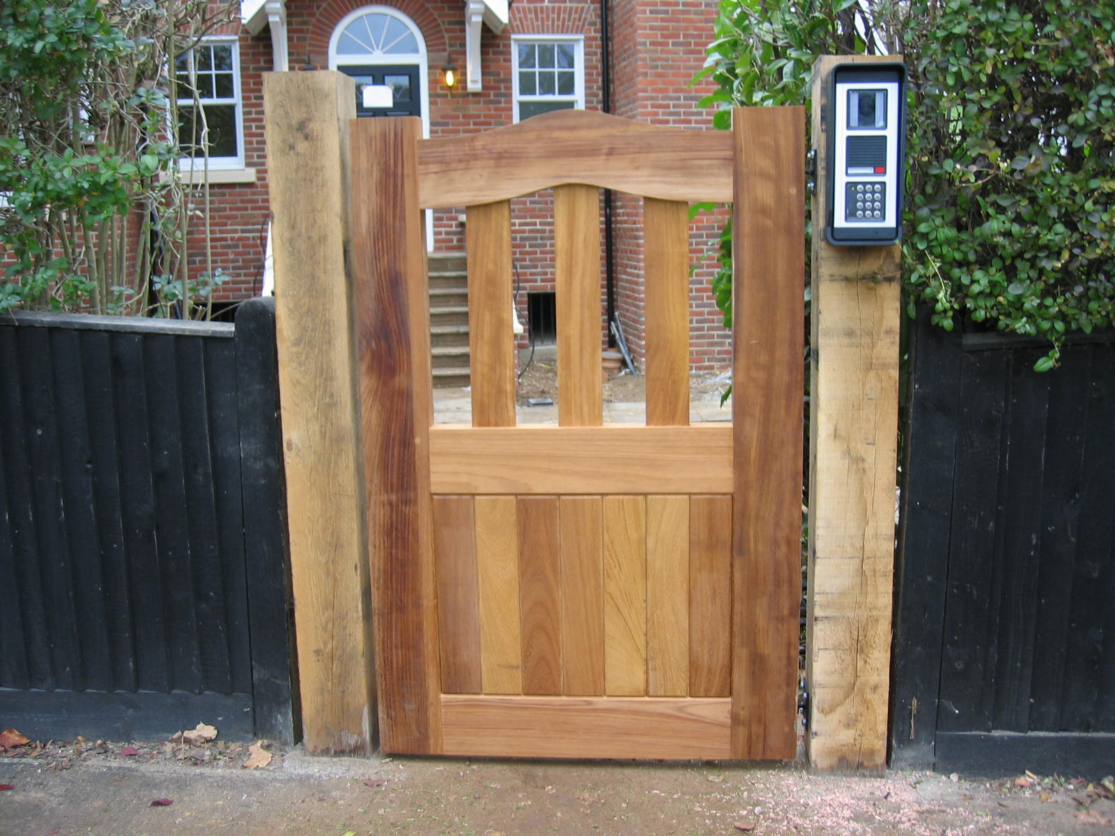 Exclusive idea small gate garden furniture wood wilson for Garden gate designs wood