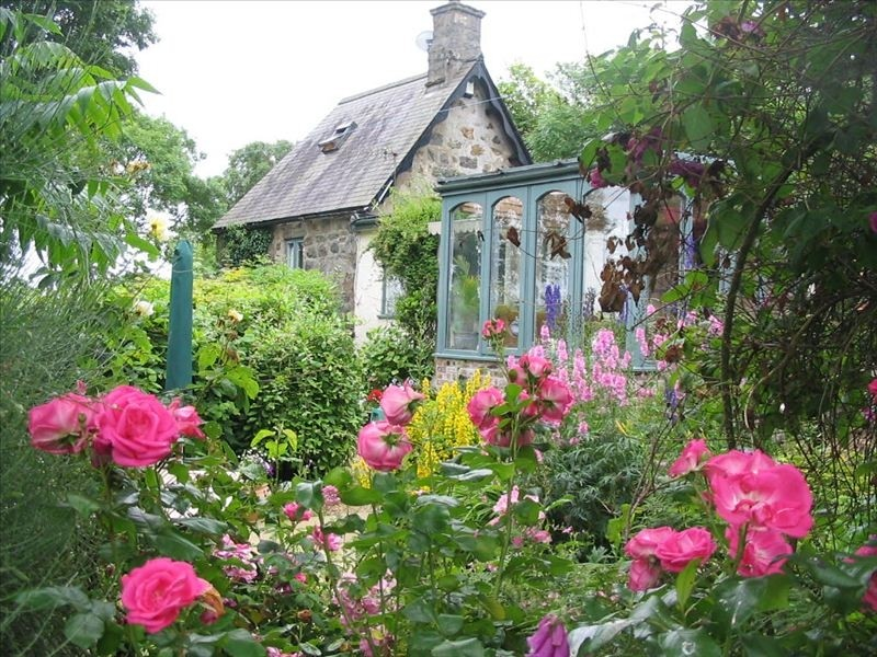 ideas cottage garden with roses