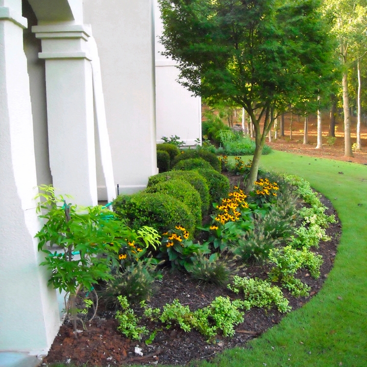 landscaping services at North Carolina