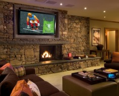 man cave living room ideas