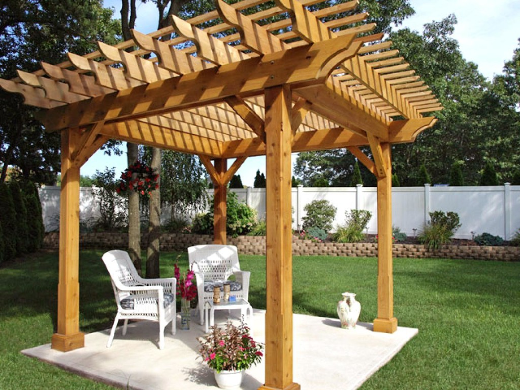 pergola plans and inspiring ideas for more attractive outdoor room wilson rose garden. Black Bedroom Furniture Sets. Home Design Ideas