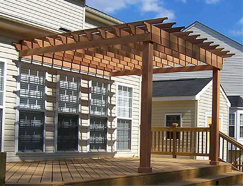 Extrêmement Pergola Plans and Inspiring Ideas for More Attractive Outdoor Room  HH57
