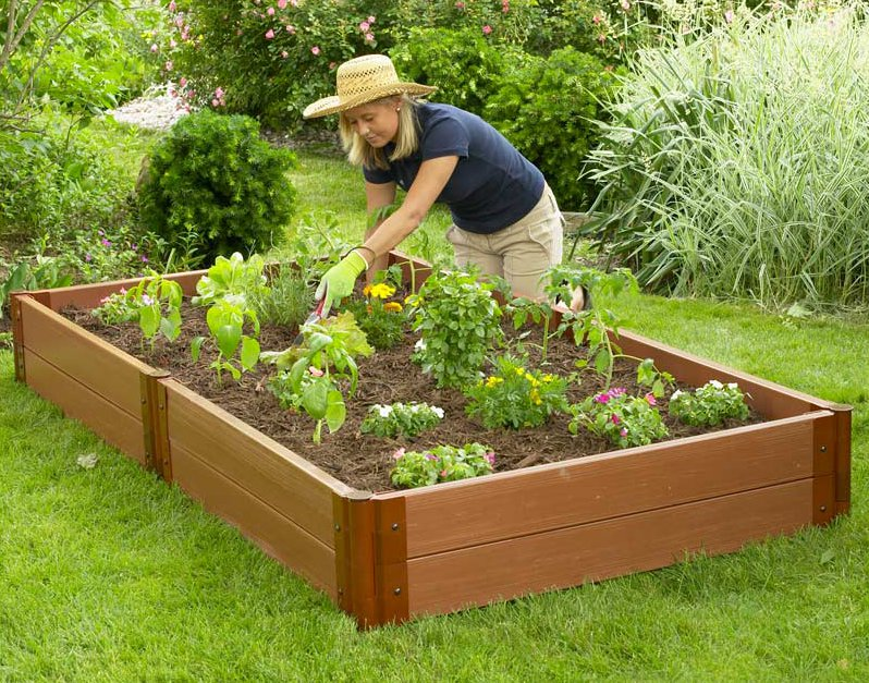 raised garden beds designs you can finish in less than a. Black Bedroom Furniture Sets. Home Design Ideas