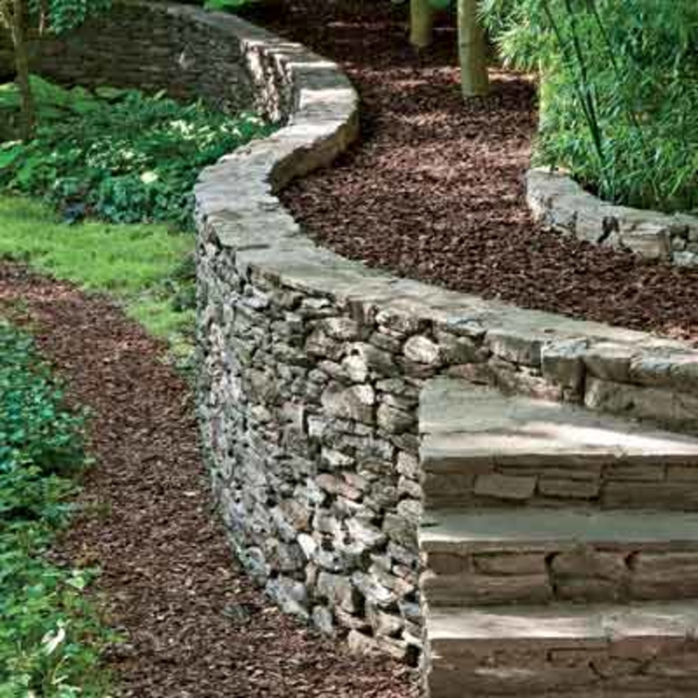 Retaining wall and its importance wilson rose garden for Garden and its importance