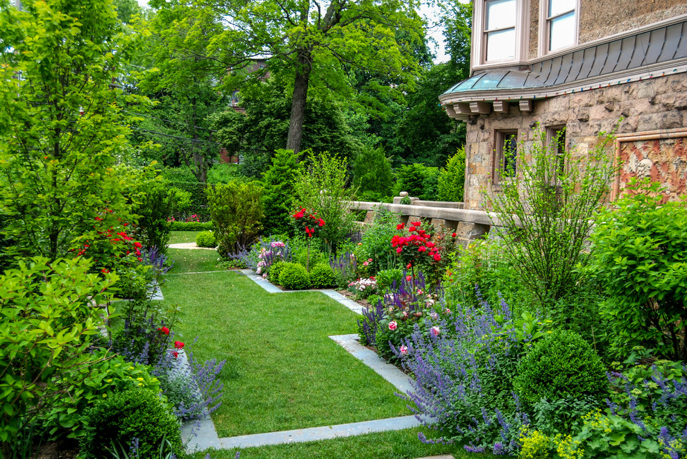 traditional garden landscape Ideas