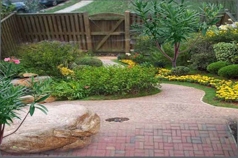 Innovative backyard design ideas for small yards wilson - Small backyard landscape designs ...