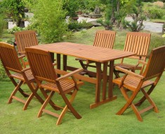 Beautiful Garden Furniture Wood