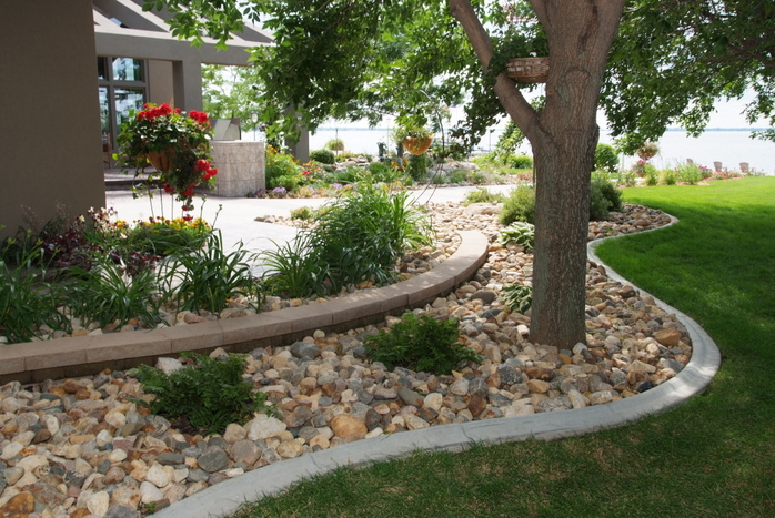 Transforming Your Pond With Landscaping With Rocks Wilson Rose Garden