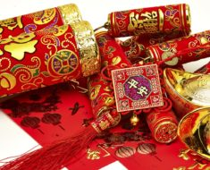 Red Chinese New Year Decorations