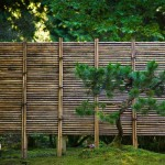 bamboo garden edging fence