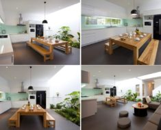 house garden kitchen design