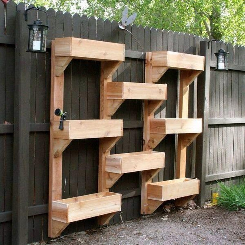 Wooden Planter Bo Ideas